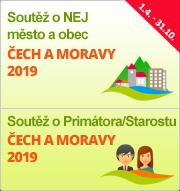"""Soutěže """"NEJ město a obec Čech a Moravy 2019"""" a """"Primátor/Starosta Čech a Moravy 2019"""""""