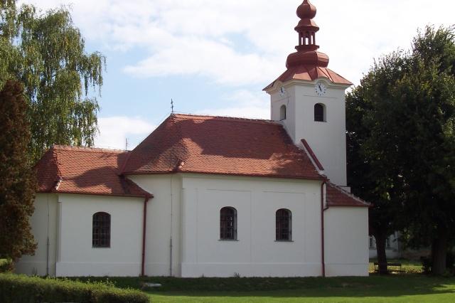 Kaple sv. Anny postavená v roce 1843 - Zdětín