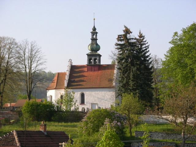 Kostelík na Stráňově z r.1555