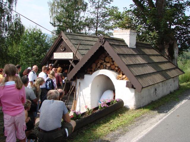 Obecní pec na pečení chleba v Lenoře