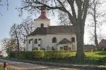 Kostel sv.Ondřeje, národní kulturní památka.