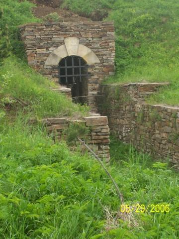 Vchod do štoly Marie Pomocné