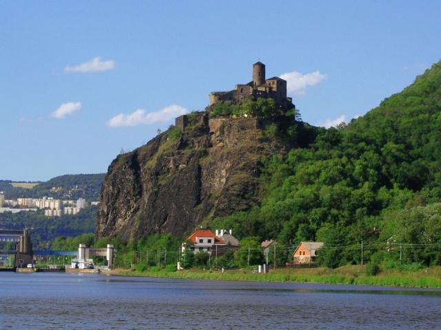 Ústí nad Labem - hrad Střekov