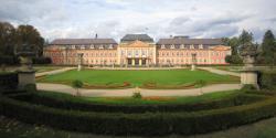 Zámek Dobříš - panorama
