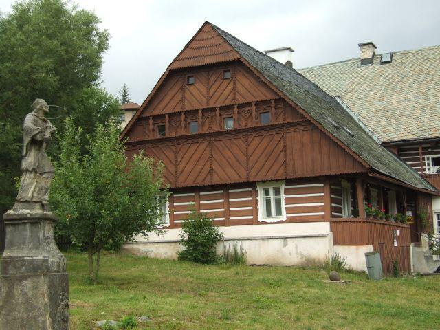 Železný Brod - budova radnice