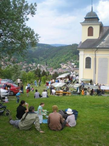 Železný Brod - kostelíček na Poušti