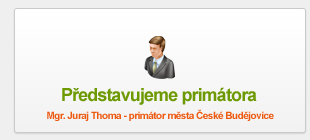 Mgr. Juraj Thoma - primátor města České Budějovice