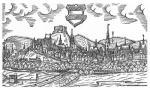 Rytina Brna v roce 1591