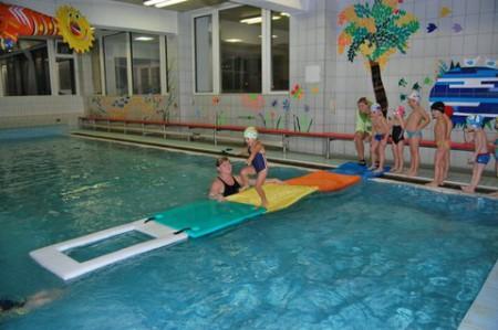 Venkovní bazén slovany