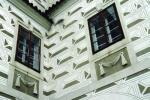 Sgrafitová výzdoba na Purkrabském domě - foto Š. Mikeš