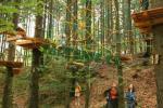 Horský lanový park Tarzanie 1