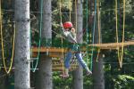 Horský lanový park Tarzanie 2