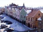 Telč - Náměstí v zimě 8