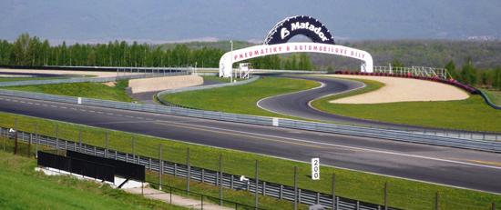 Autodrom v Sosnové