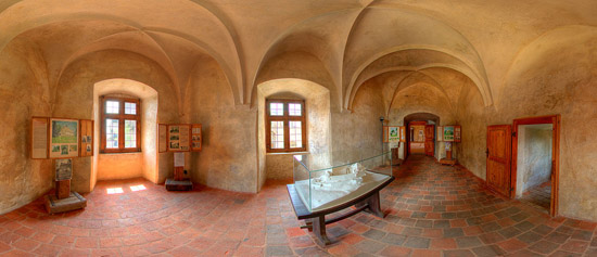 Hrad Lipnice - Interiér