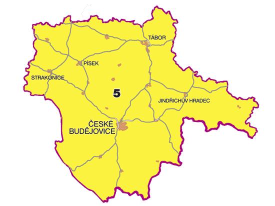 Turistický region - Jižní čechy