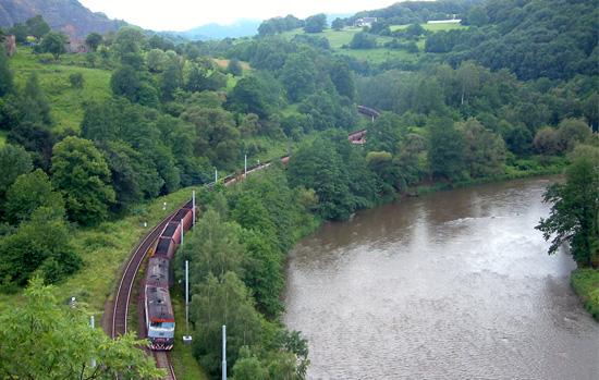 Řeka Ohře