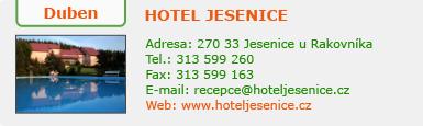 http://www.hotel-jesenice.cz/
