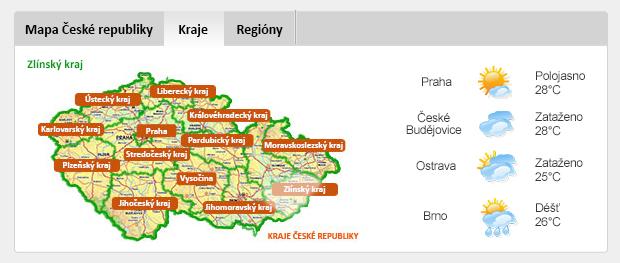 KRAJE ČESKÉ REPUBLIKY - Zlínský kraj