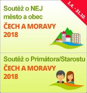 """Soutěže """"NEJ město a obec Čech a Moravy 2018"""" a """"Primátor/Starosta Čech a Moravy 2018"""""""
