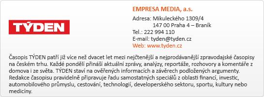 EMPRESA MEDIA, a.s.