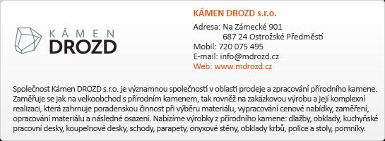 KÁMEN DROZD s.r.o.