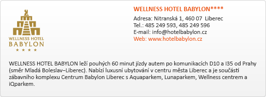 WELLNESS HOTEL BABYLON****