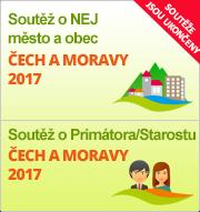 """Soutěže """"NEJ město a obec Čech a Moravy 2017"""" a """"Primátor/Starosta Čech a Moravy 2017"""""""