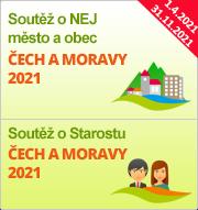 """Soutěže """"NEJ město a obec Čech a Moravy 2021"""" a """"Primátor/Starosta Čech a Moravy 2021"""""""