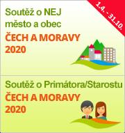 """Soutěže """"NEJ město a obec Čech a Moravy 2020"""" a """"Primátor/Starosta Čech a Moravy 2020"""""""